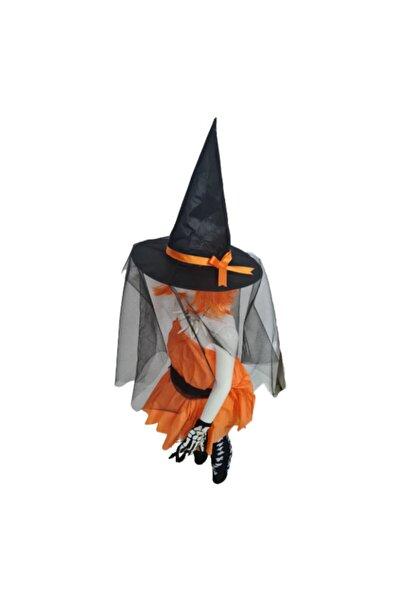 Partini Seç Tüllü Siyah Şapka Cadılar Bayramı Yetişkin, Kostüm Partisi Cadı Konsepti
