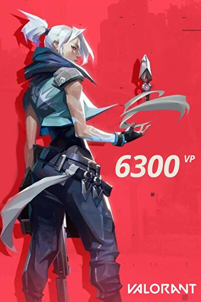 Riot Games 6300 VP Valorant Points TR