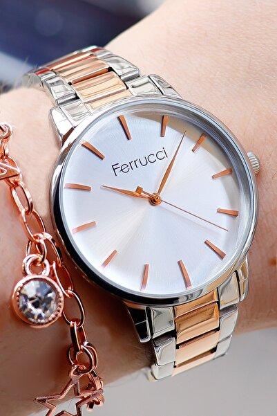Ferrucci Kadın Kol Saati Bileklik Hediyesiyle 176065