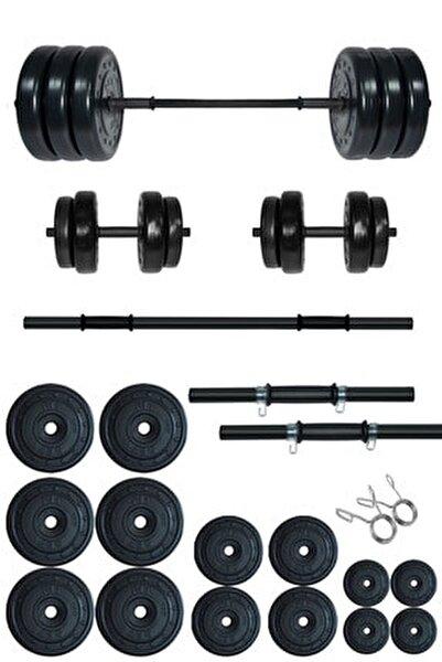 95 kg Kombo Halter Seti Ve Dambıl Seti Ağırlık Fitness Seti