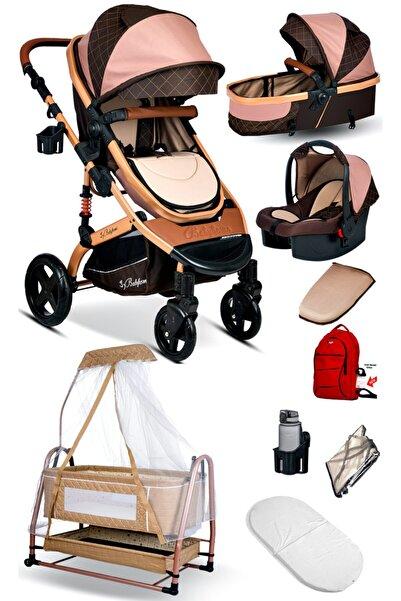 Baby Home 9 In 1 Set 946 Travel Sistem Bebek Arabası Ve Maya Anne Yanı Bebek Sepeti Beşik