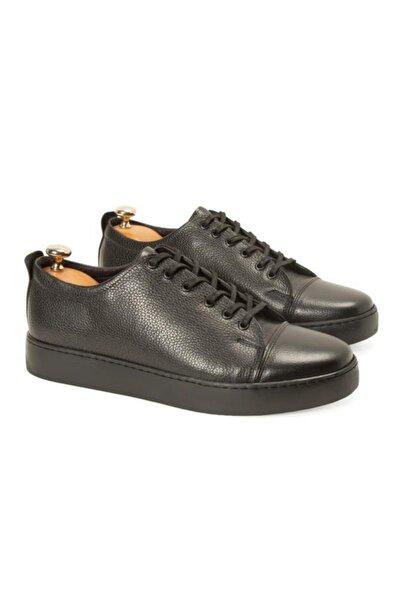 Ayakkabı Çarşı Hakiki Deri Günlük Erkek Ayakkabı Siyah