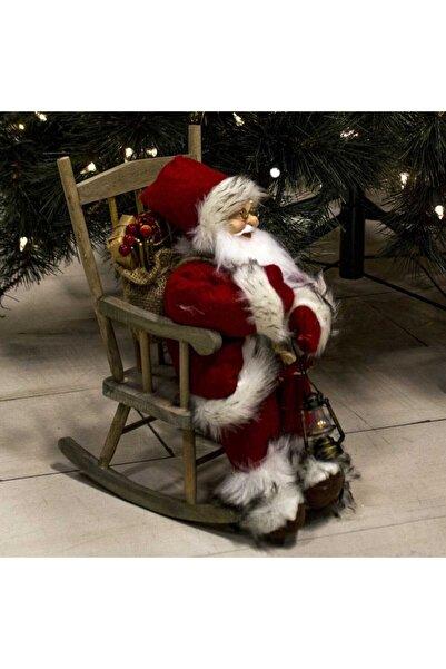 Evistro Yılbaşı Dekoratif Noel Baba Ithal Ürün 18x23x30cm