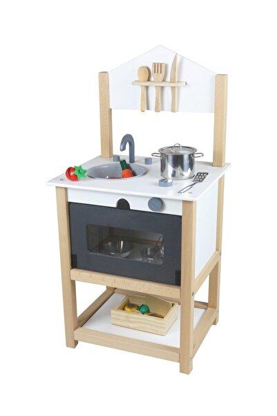 EDU DİZAYN Ahşap Eğitici Oyuncak Mutfak Montessori Galya Mutfak