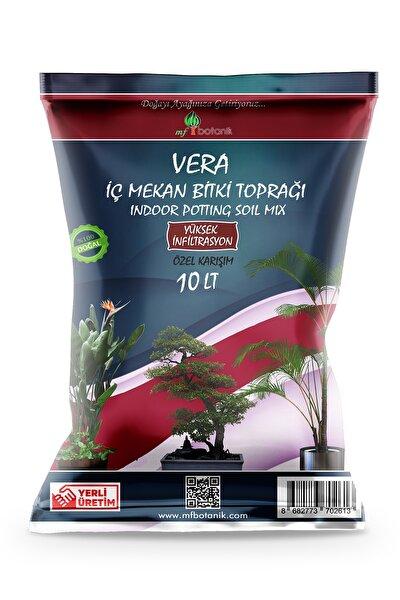 MF Botanik Vera Özel Karışım Iç Mekan Bitki Toprağı 10 Litre Çiçek Toprağı Toprak Harcı