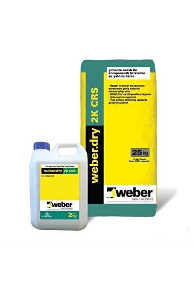 WEBER Dry 2k Crs Kristalize Su Yalıtımı Set (25 2 KG)