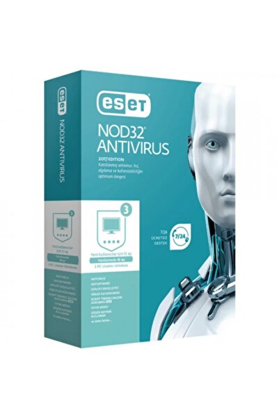 ESET NOD32 Antıvırus 1 Kullanıcı , 1 Yıl