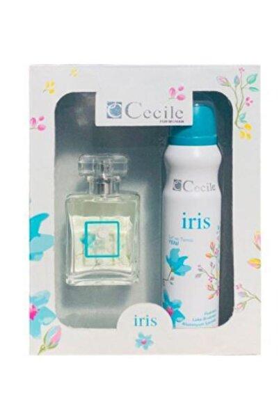 Cecile Kadın Parfüm Set Irıs Edt 55 ml & Irıs Deodorant 150 ml 8698438208031