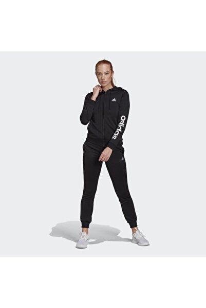 adidas Kadın W Lın Ft Ts Siyah Eşofman Takımı Gm5575