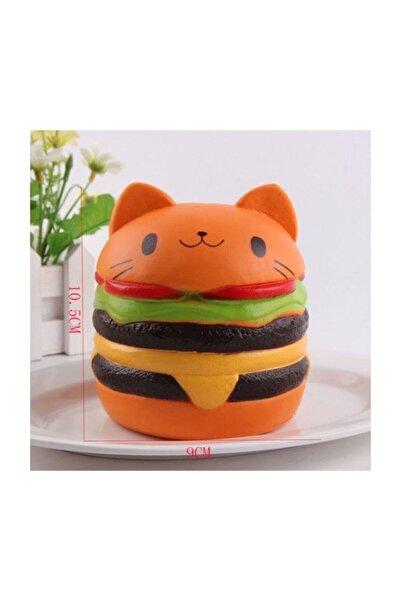 Squishmeez Squishy Hamburger Jumbo Turuncu Sukuşi
