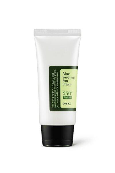 Cosrx Aloe Soothing Sun Cream Spf50 Pa+++ - Aloe Vera Ekstreli Yatıştırıcı Spf50+ Güneş Kremi