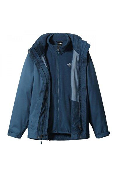 THE NORTH FACE Nf00cg56 Evolve Li Tri Jacket Mavi Kadın Outdoor