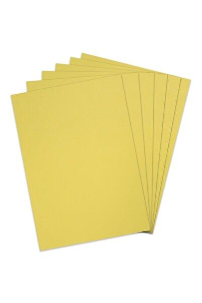 Gingko 18 Gr A4 Boy Açık Sarı Renk Pelur Kağıdı 50 Li