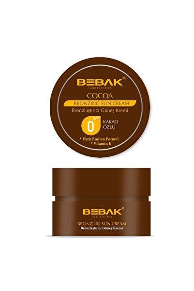 Bebak Kakao Özlü Bronzlaştırıcı Güneş Kremi 100 ml