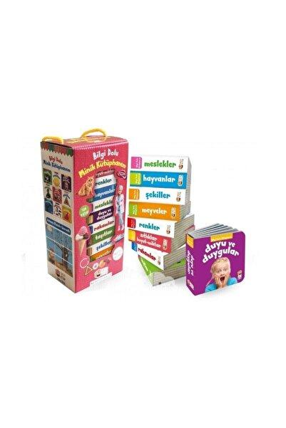 Sincap Kitap Bilgi Dolu Minik Kütüphanem (9 Kitap - Ingilizce Destekli - Pembe Kutu)