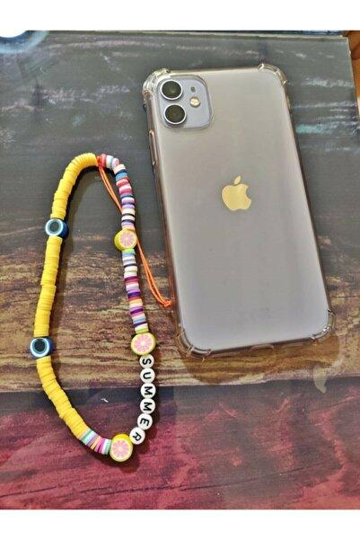 MN ACCESSORY Yeni Trend Cep Telefon Bilek Askısı Renkli Telefon Askısı Summer Yazılı Aksesuar Phone