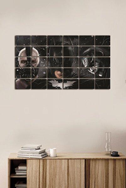 Dekolia 30 Parça Puzzle Kuşe Kağıt Duvar Posteri Tablo Seti Batman Beyin Ve Joker Pzldkl-132