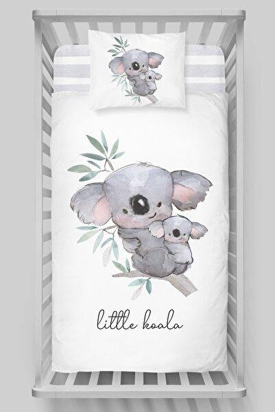 Tuğba Kuğu Organik Bebek Nevresim Takımı - Pure Baby Serisi