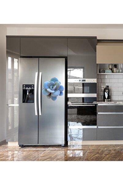 MimOzalit Sukulent Büyük Boy Buzdolabı Magneti - 45x45cm
