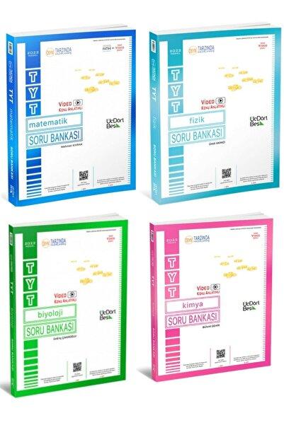 Üç Dört Beş Yayıncılık 3 4 5 Tyt Sayısal Set 2022 Model ( Matematik - Fizik - Kimya - Biyoloji)