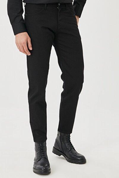 ALTINYILDIZ CLASSICS Erkek Siyah Regular Fit Bol Kesim Denim Jean Kot Pantolon
