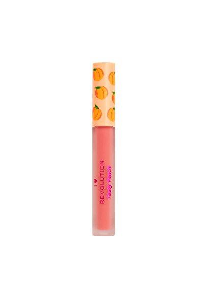 I HEART REVOLUTION Peach Soft Peach Likit Ruj Apricot