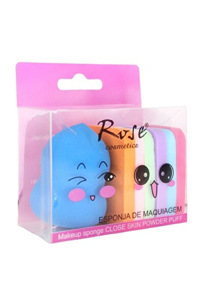 Roesıa Rose Cosmetics Makyaj Süngeri 7'li