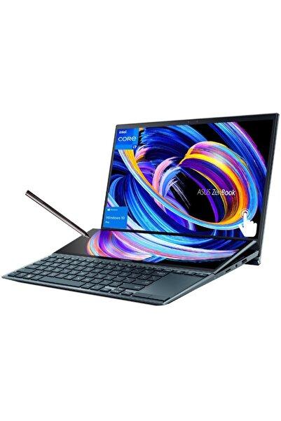 "ASUS Zenbook Duo14- I7-1165g7-16gb-1tb Ssd-win10 Pro-14""fhd Touch-q Ingilizce Klavye 1yıl Garanti"