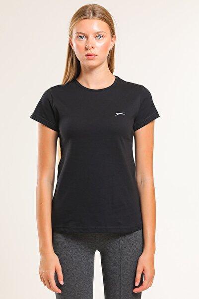 Slazenger Sıena Kadın T-shirt Siyah