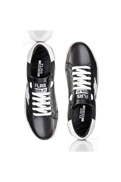 Cabani Kadın Beyaz Siyah Lux Yıldız Motifli Günlük Ayakkabı 212c1400 Flrs 055-fı