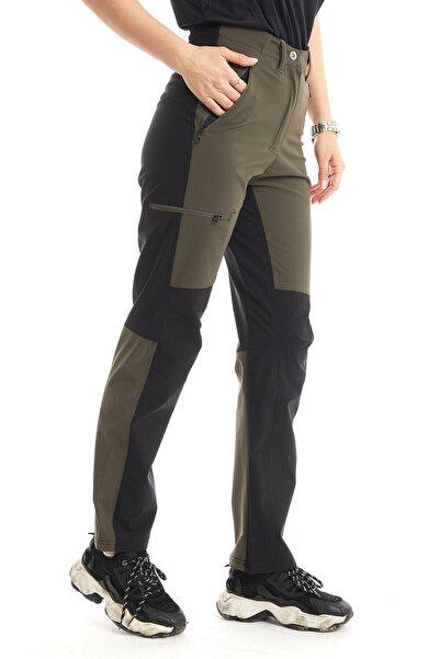 Climbolic Kadın Kaşgar+ Pantolon Haki Siyah