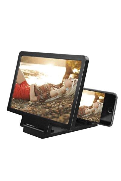 OMAC Telefon Ekran Büyütücü 3d Mercek Cep Telefonu Büyüteç Telefon Ekran Büyütme Için Büyütücü