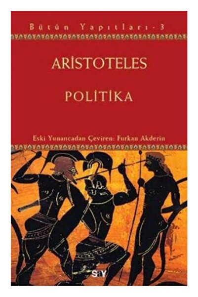 Say Yayınları Politika Aristoteles
