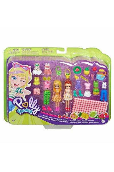 Polly Pocket Büyük Moda Seti Ggj48 - Picnic Pretty Fashion Pack
