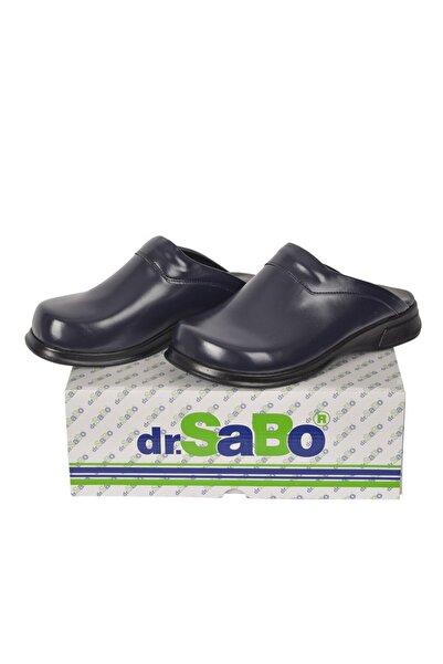 DR SABO Lacivert Aşçı Sabo Terlik  Mutfak Terliği
