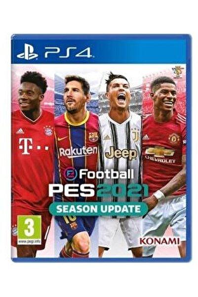PES 2021 PS4 Oyun
