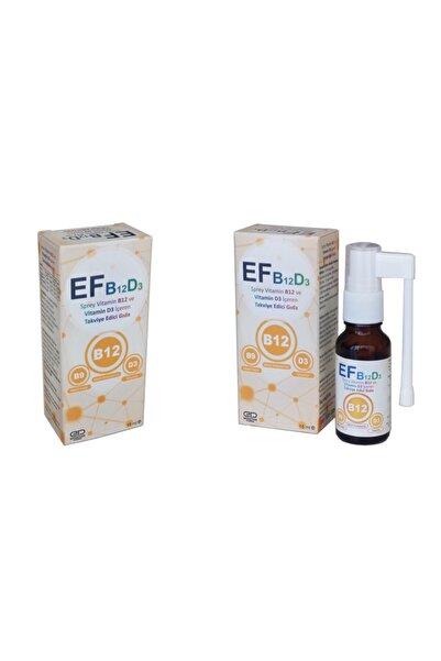 EFFECTIVE PHARMA Ef - Vitamin B12 , Vitamin D3 Içeren Dil Altı Sprey ( Karpuz - Çilek Aromalı)