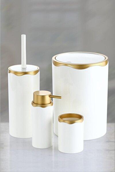 Azra Banyo Seti Gold Altın