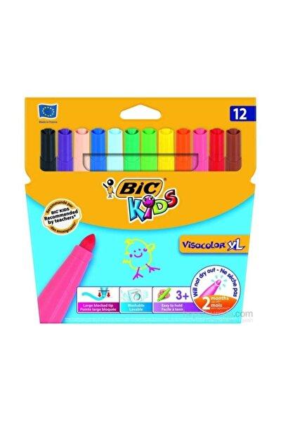 Bic Kids Visacolor XL Keçeli Boya Kalemi 12 Renk