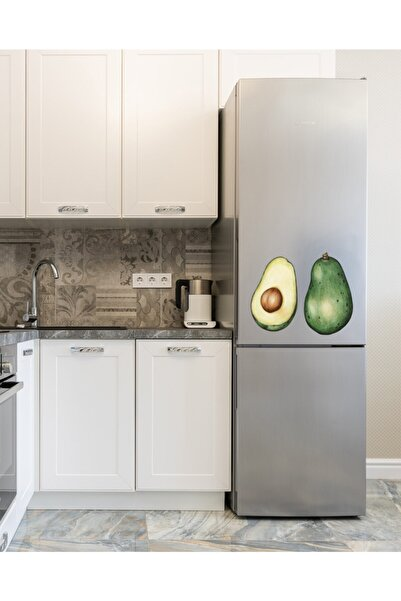 MimOzalit Avokado Büyük Boy Buzdolabı Magneti - 50x40cm