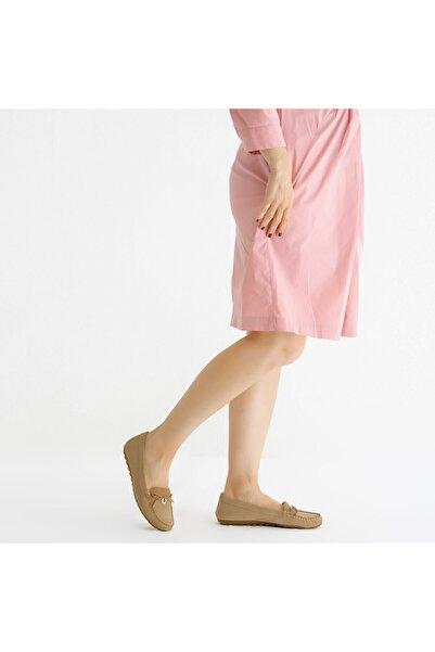 KEMAL TANCA Kadın Derı Babet Ayakkabı 807 139 Byn Ayk Y21