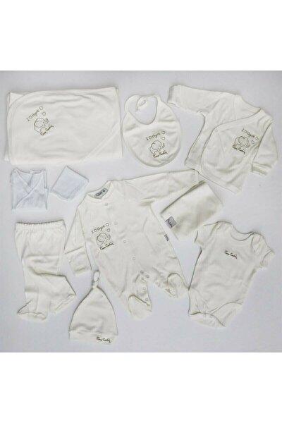 Pierre Cardin Baby Erkek Bebek Beyaz Hastane Çıkışı 10 Parça