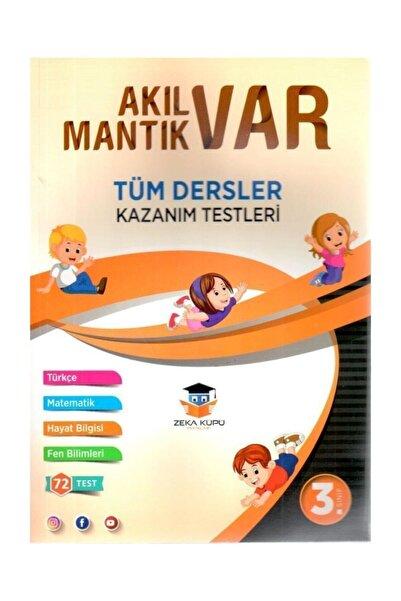 Zeka Küpü Yayınları 3. Sınıf Tüm Dersler Akıl Var Mantık Var Kazanım Testleri