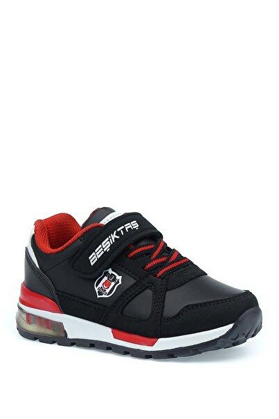 Bjk -grup Rıvero Pu 1pr Siyah Erkek Çocuk Yürüyüş Ayakkabısı