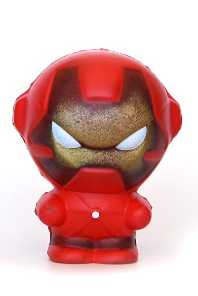 Squishy Iron Man Sukuşi Demir Adam Sukushi + Hediye Anahtarlık