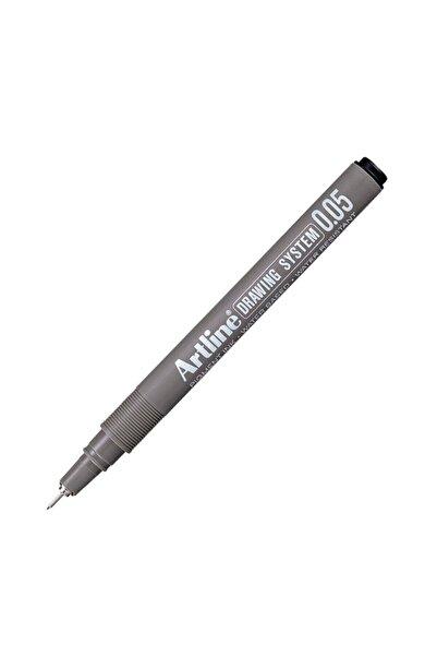 artline Çizim Kalemi Siyah 005 Uçlu