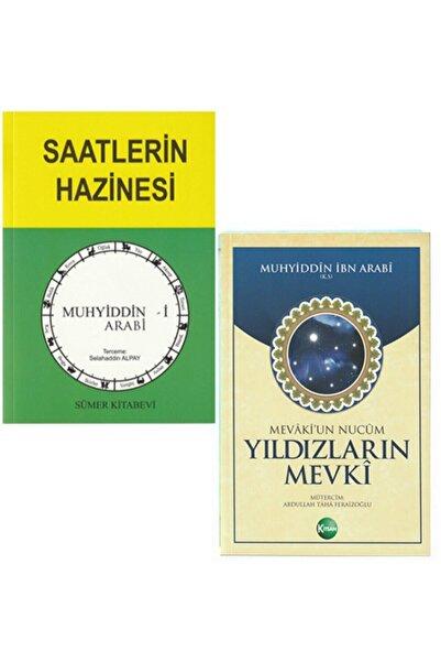 Takım Eserler Neşriyat Ibn Arabi Saatlerin Hazinesi & Yıldızların Mevki 2 Kitap Set