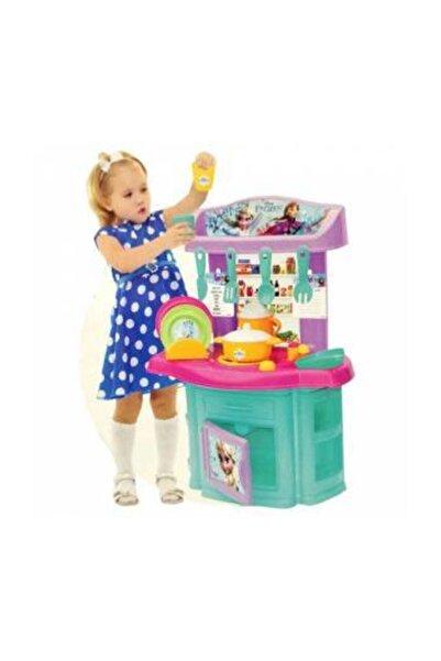 DEDE Toys Frozen Karlar Ülkesi Şef Mutfak - Elsa Anna Oyuncak Mutfak Seti