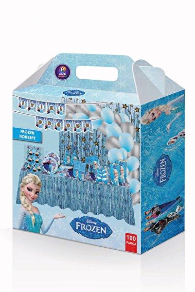 Parti Ustası Frozen Doğum Günü Parti Seti 100 Parça