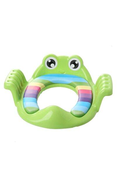 Softy Frog/kurbağa Çocuk Klozet Kapağı Adaptörü Yeşil